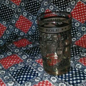 LIBBEY Dining - 2VINTAGE 1776-1976 PHARMACY HISTORIC GLASSES.